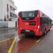 Autobus zastávka